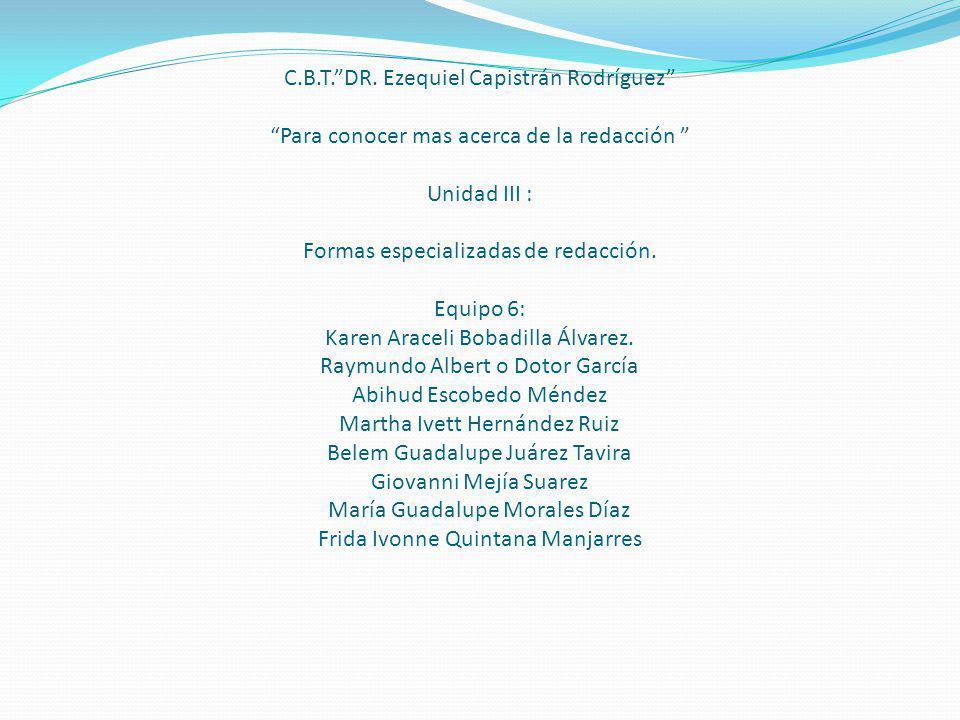 C.B.T. DR.