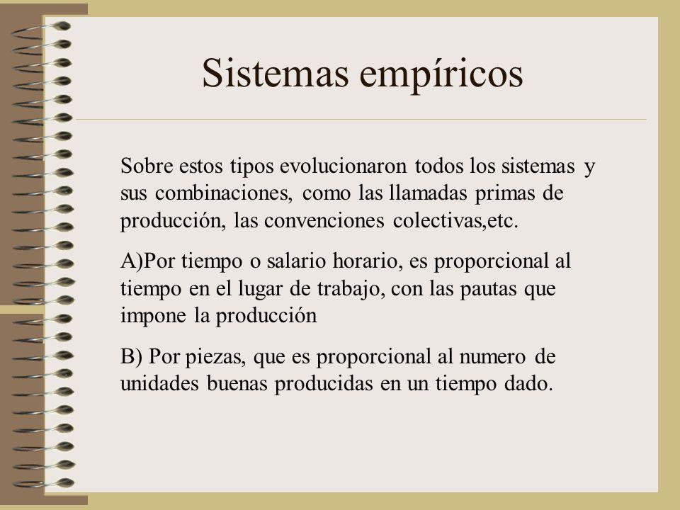 Sistemas empíricos
