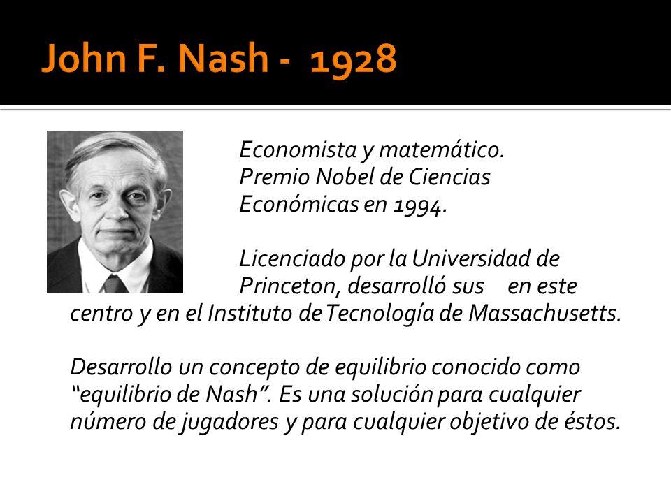 John F. Nash - 1928