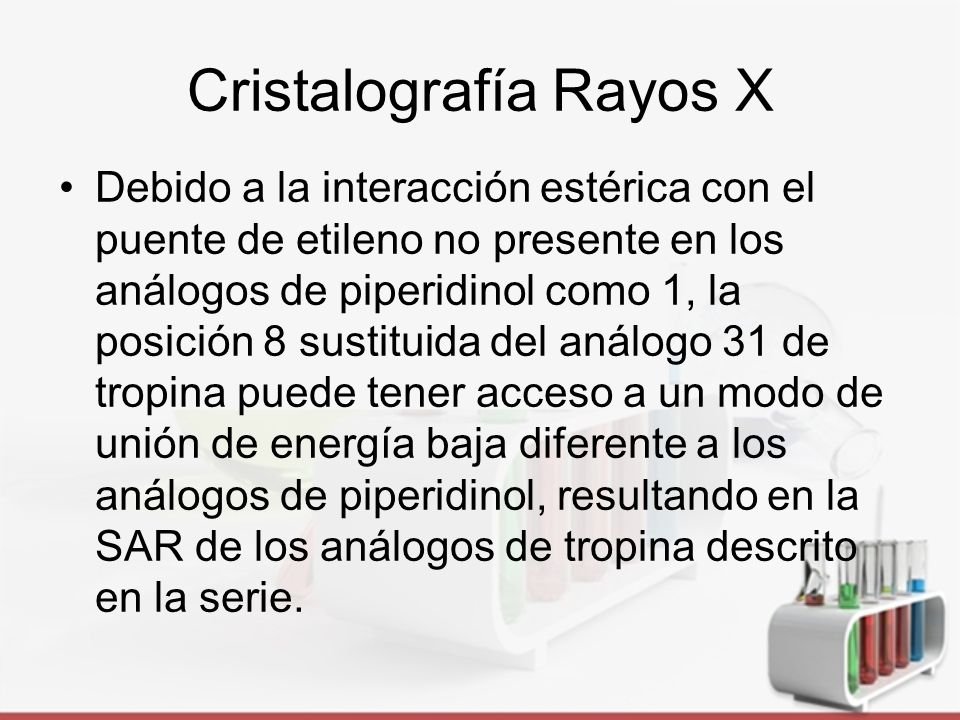 Cristalografía Rayos X