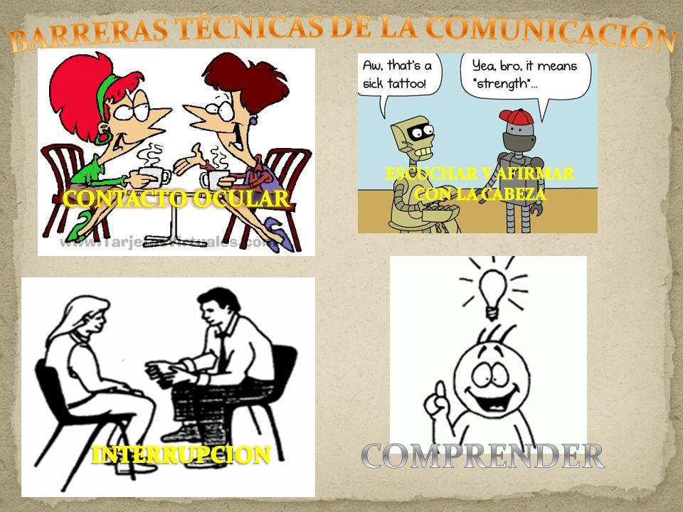 BARRERAS TÉCNICAS DE LA COMUNICACIÓN