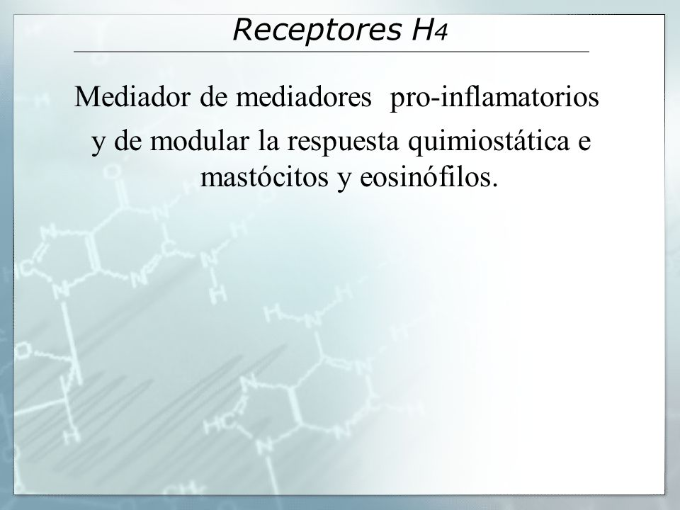 Mediador de mediadores pro-inflamatorios