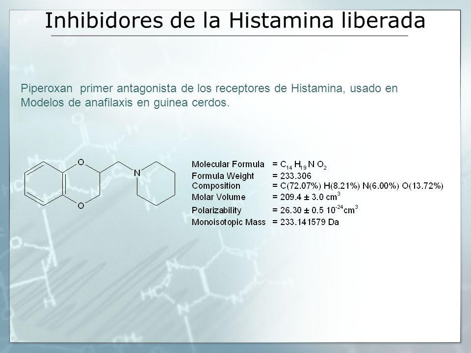 Inhibidores de la Histamina liberada