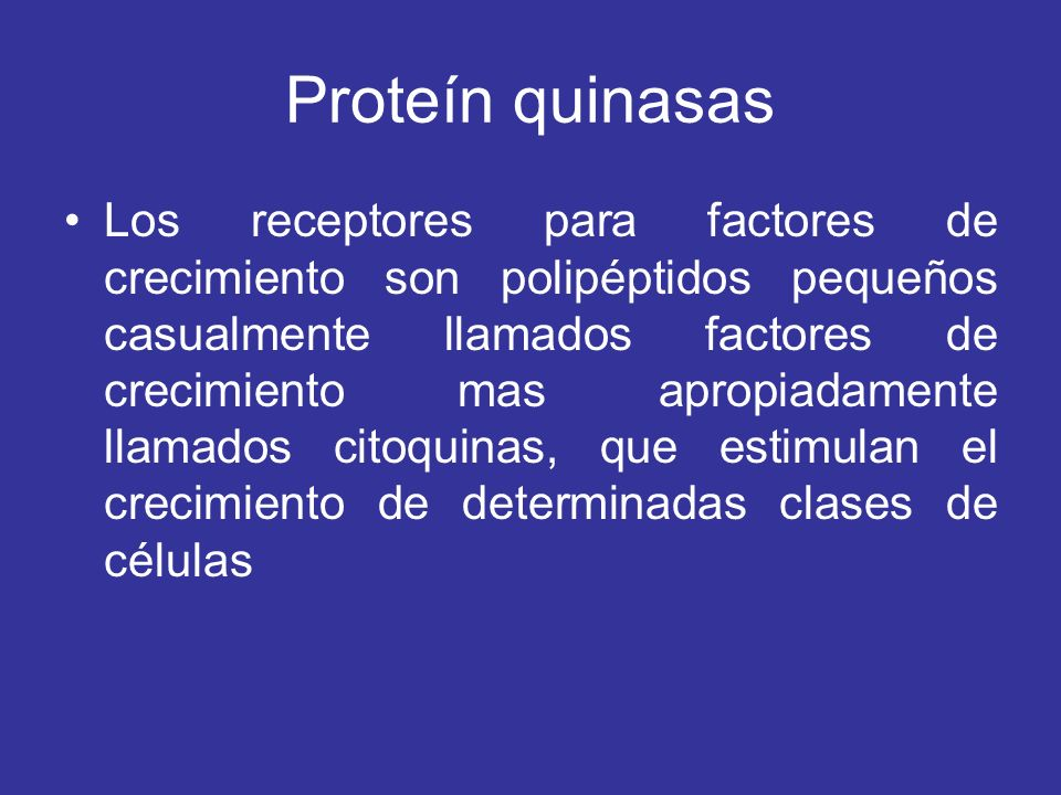 Proteín quinasas