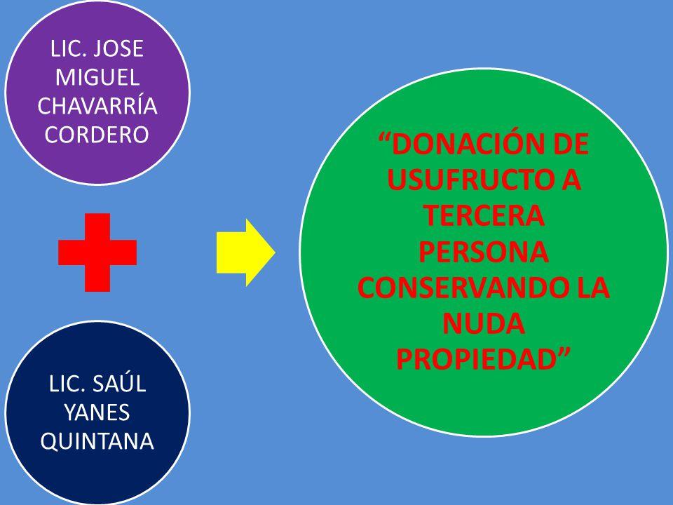 LIC. JOSE MIGUEL CHAVARRÍA CORDERO