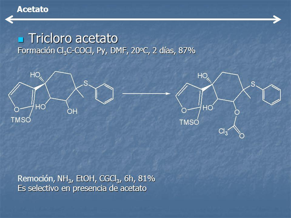 Tricloro acetato Acetato