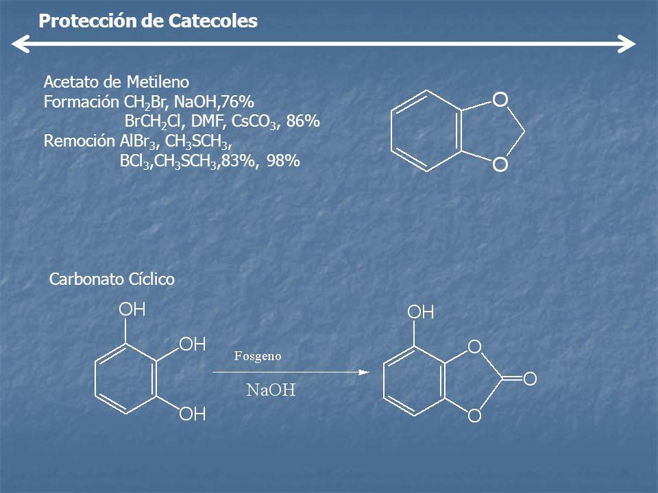 Protección de Catecoles