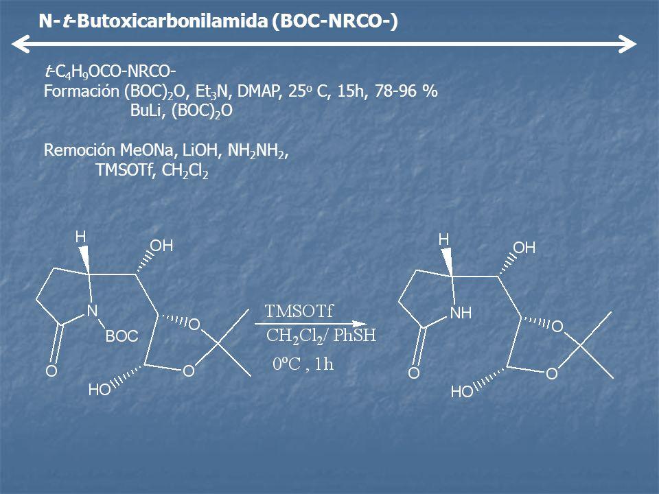 N-t-Butoxicarbonilamida (BOC-NRCO-)