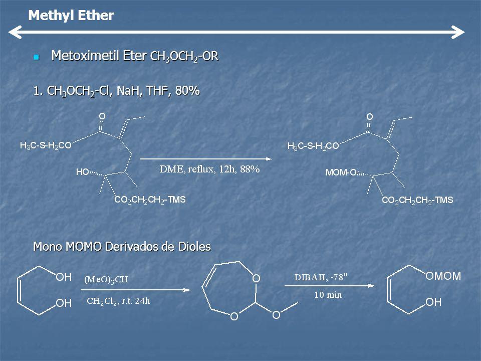 Metoximetil Eter CH3OCH2-OR