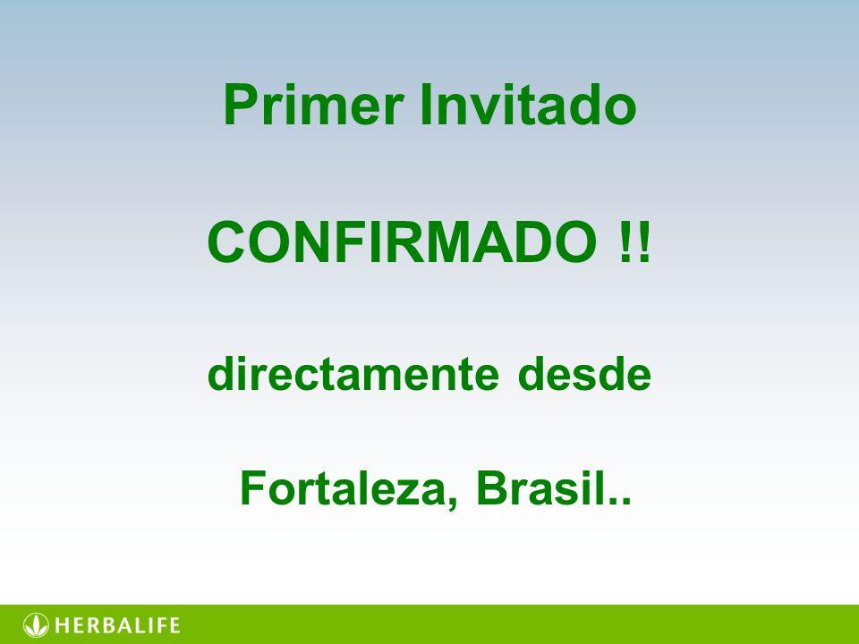 Primer Invitado CONFIRMADO !!