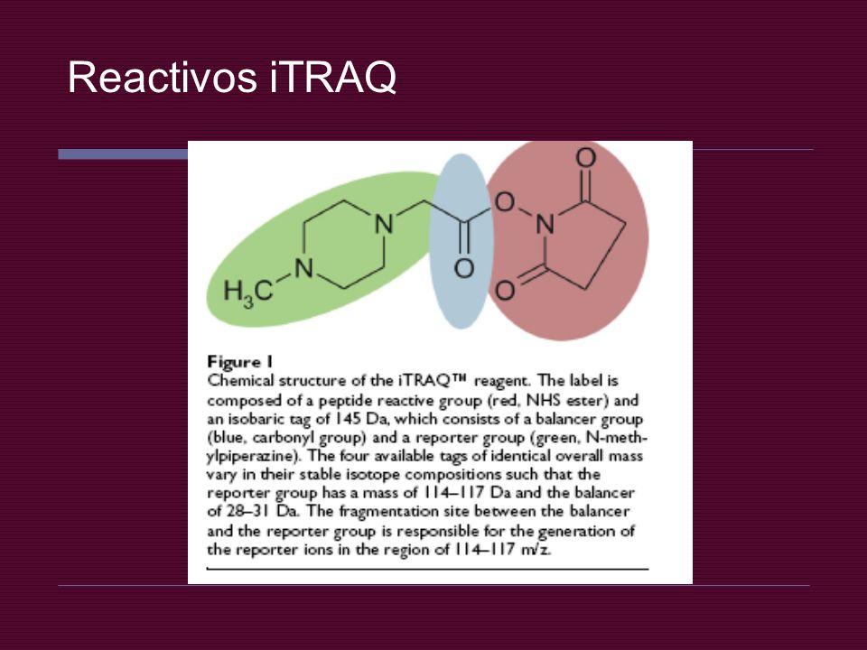 Reactivos iTRAQ