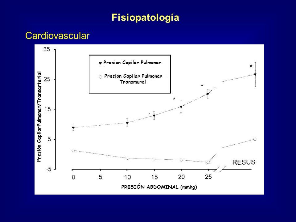 Fisiopatología Cardiovascular Presion Capilar Pulmonar