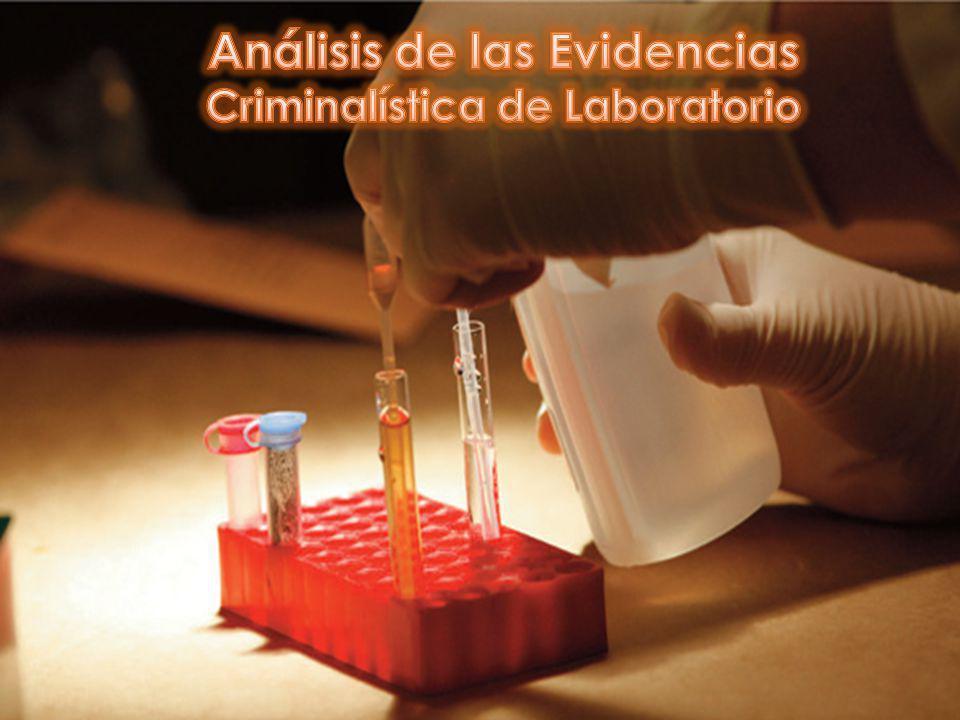 Análisis de las Evidencias Criminalística de Laboratorio