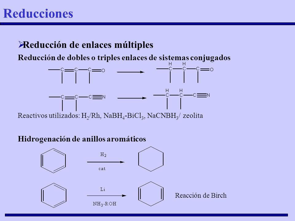 Reducciones Reducción de enlaces múltiples