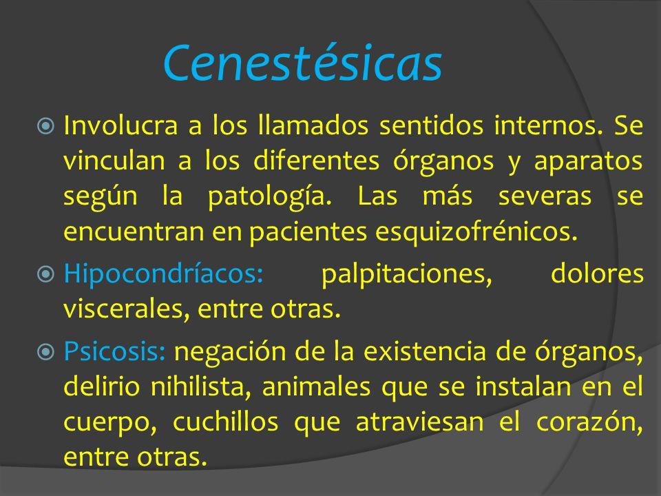 Cenestésicas