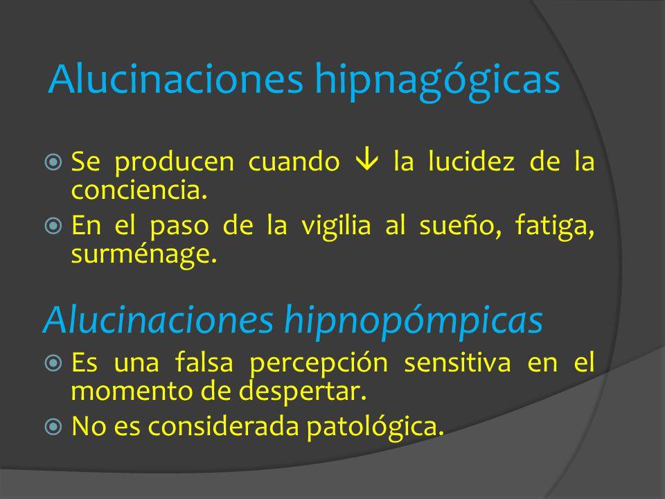 Alucinaciones hipnagógicas