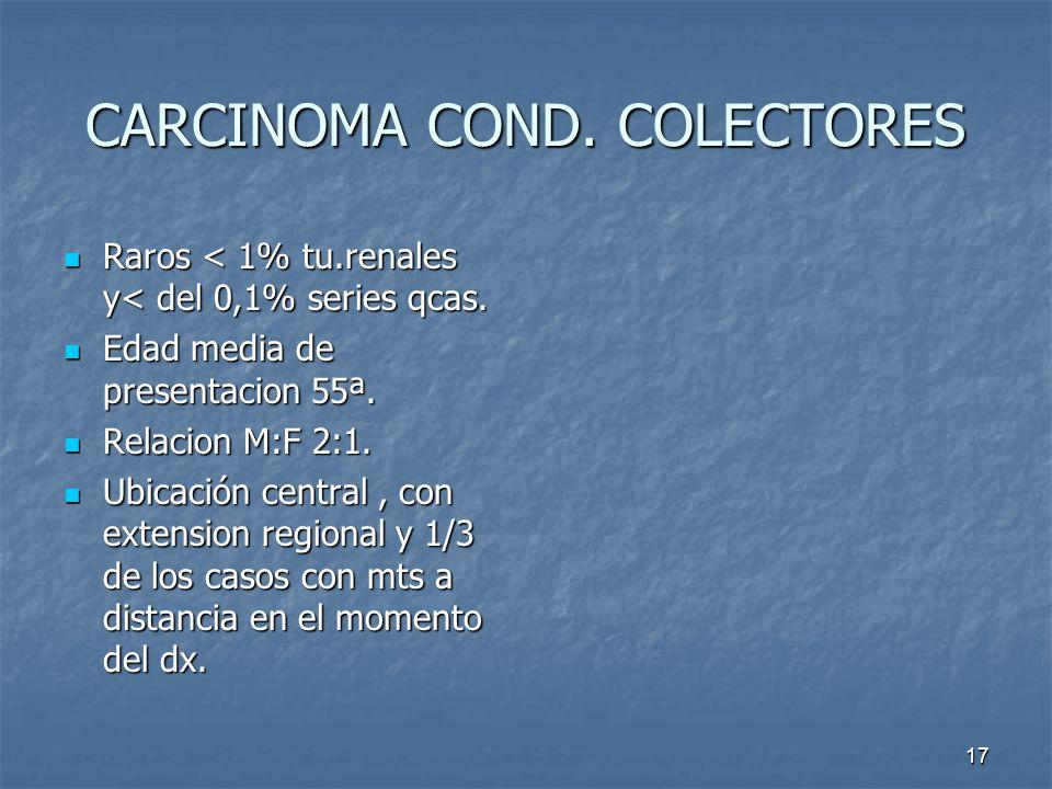 CARCINOMA COND. COLECTORES