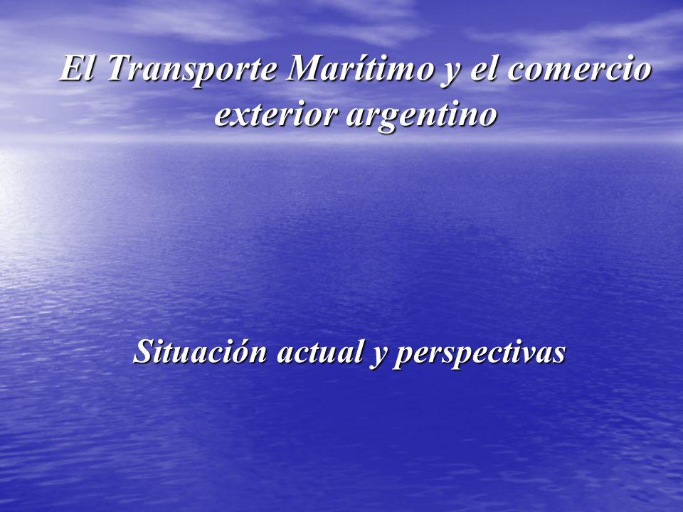 El Transporte Marítimo y el comercio exterior argentino