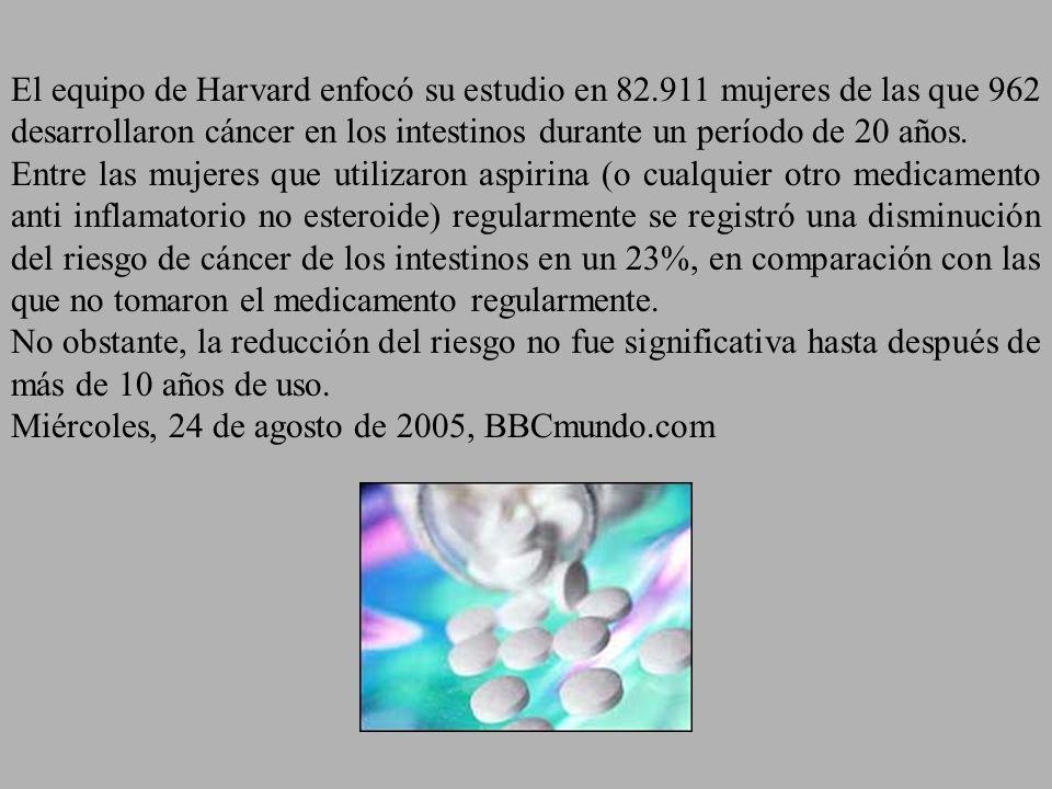 El equipo de Harvard enfocó su estudio en 82