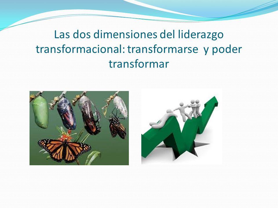 Las dos dimensiones del liderazgo transformacional: transformarse y poder transformar