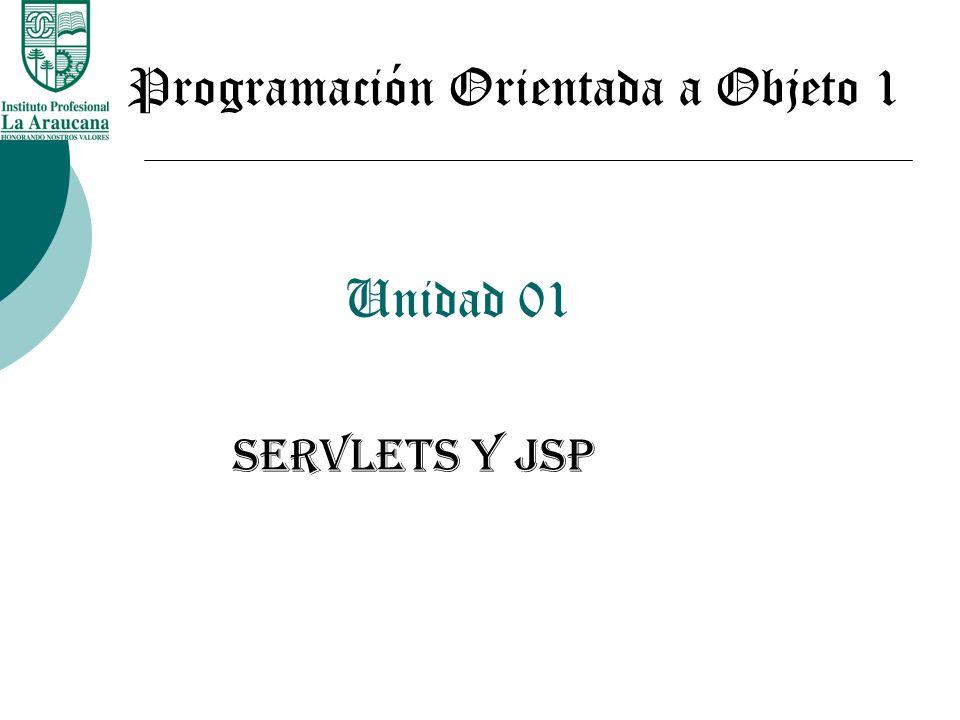 Programación Orientada a Objeto 1
