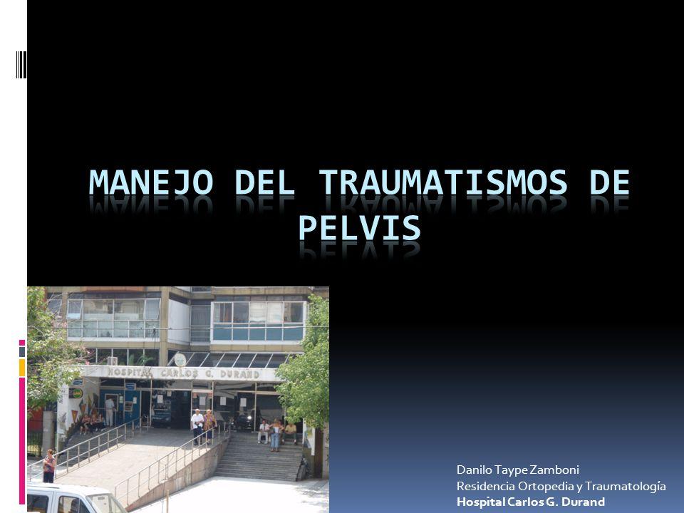 Manejo del Traumatismos de Pelvis