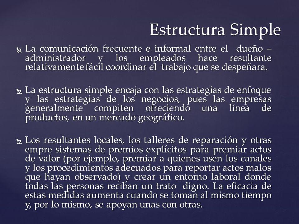 Estructura Simple