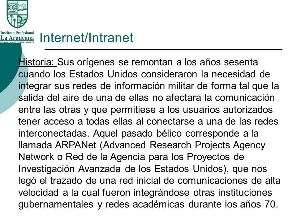 Internet/Intranet