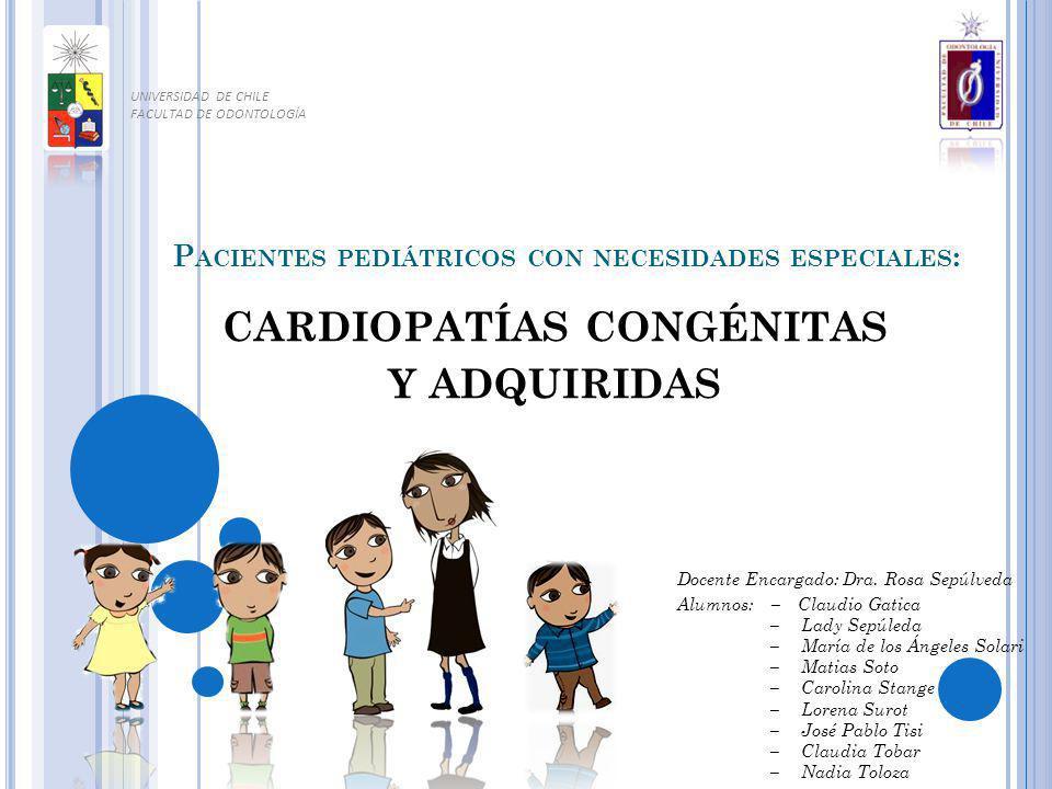Pacientes pediátricos con necesidades especiales: