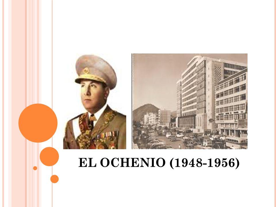 EL OCHENIO (1948-1956)