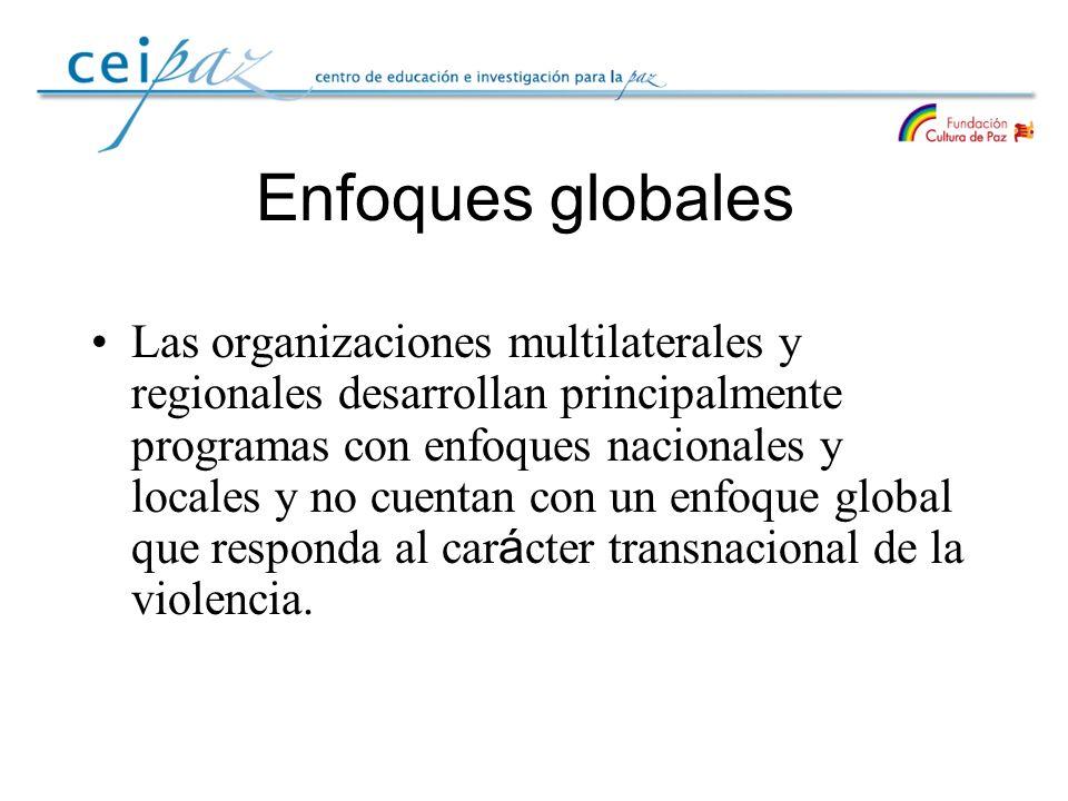 Enfoques globales