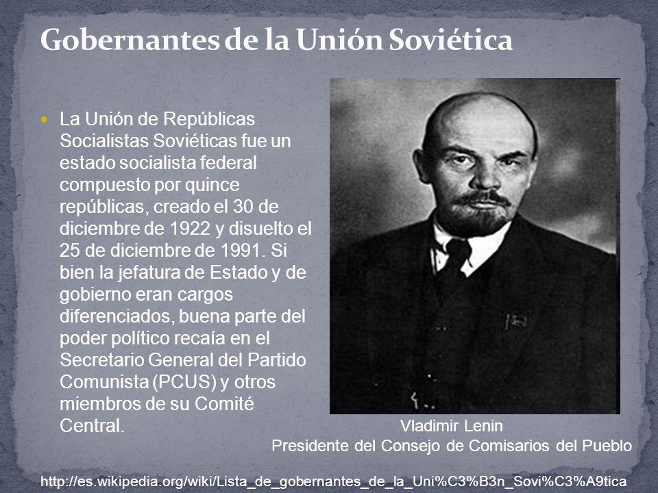Gobernantes de la Unión Soviética