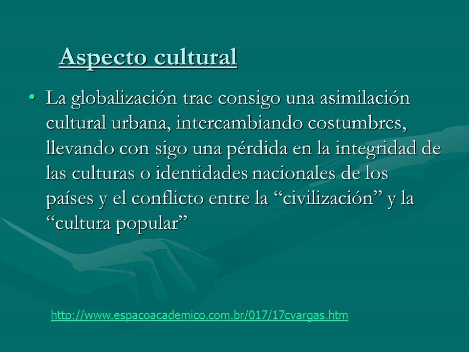 Aspecto cultural