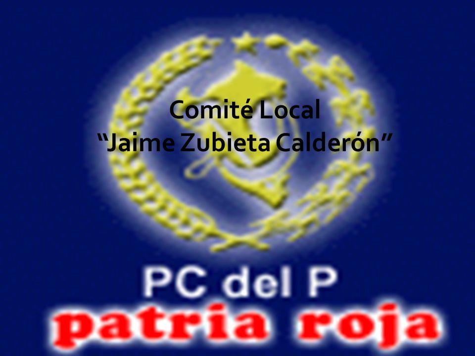 Comité Local Jaime Zubieta Calderón