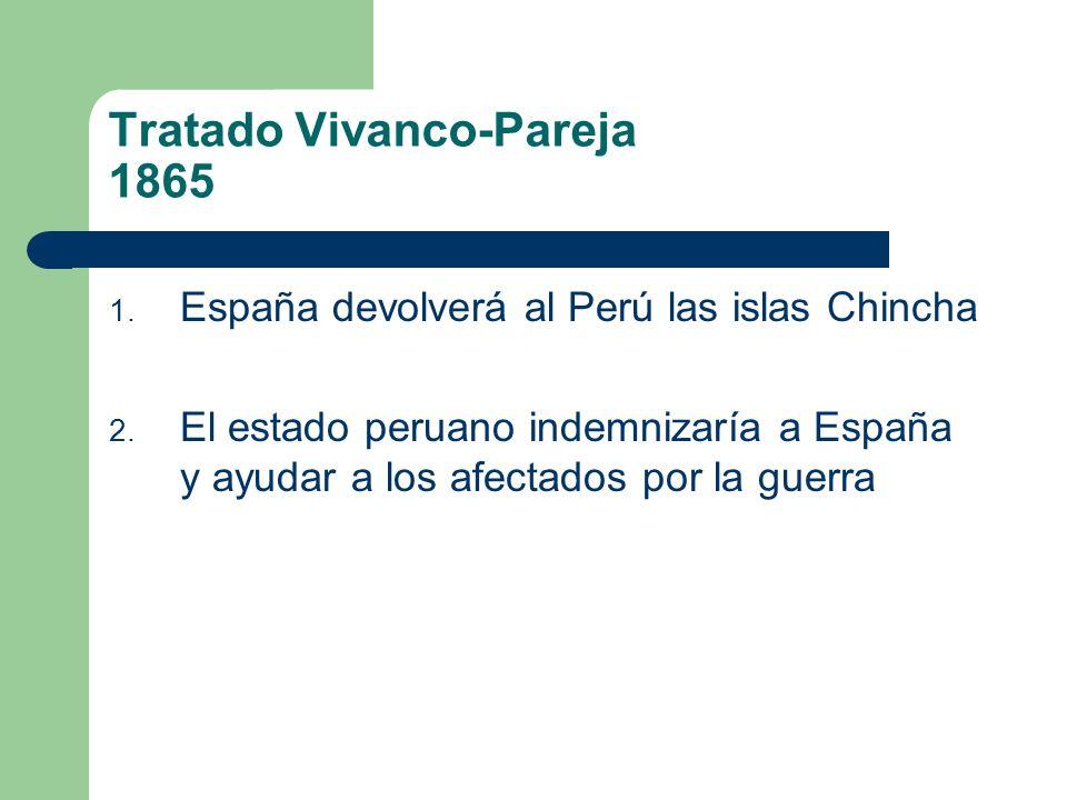 Tratado Vivanco-Pareja 1865