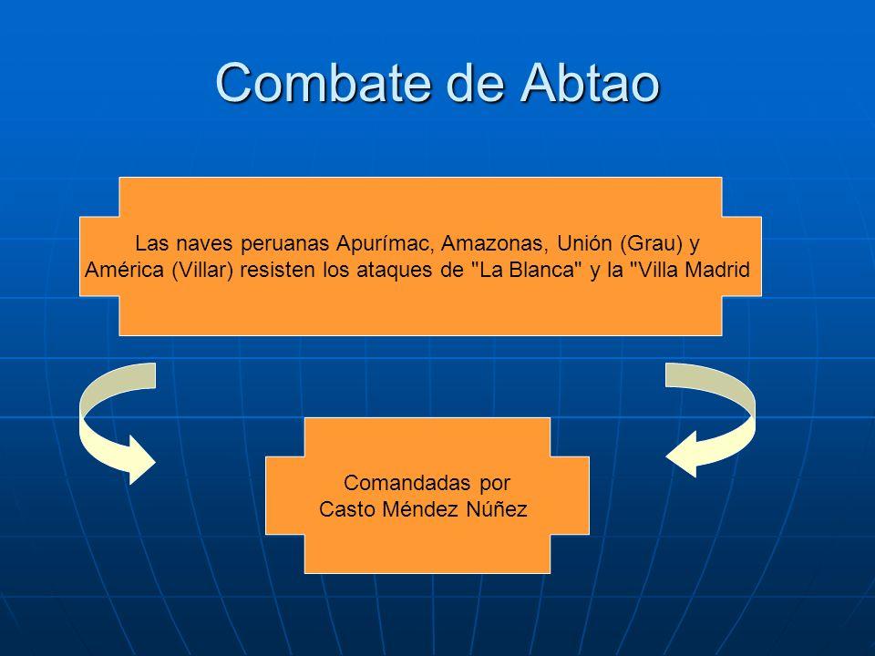 Las naves peruanas Apurímac, Amazonas, Unión (Grau) y