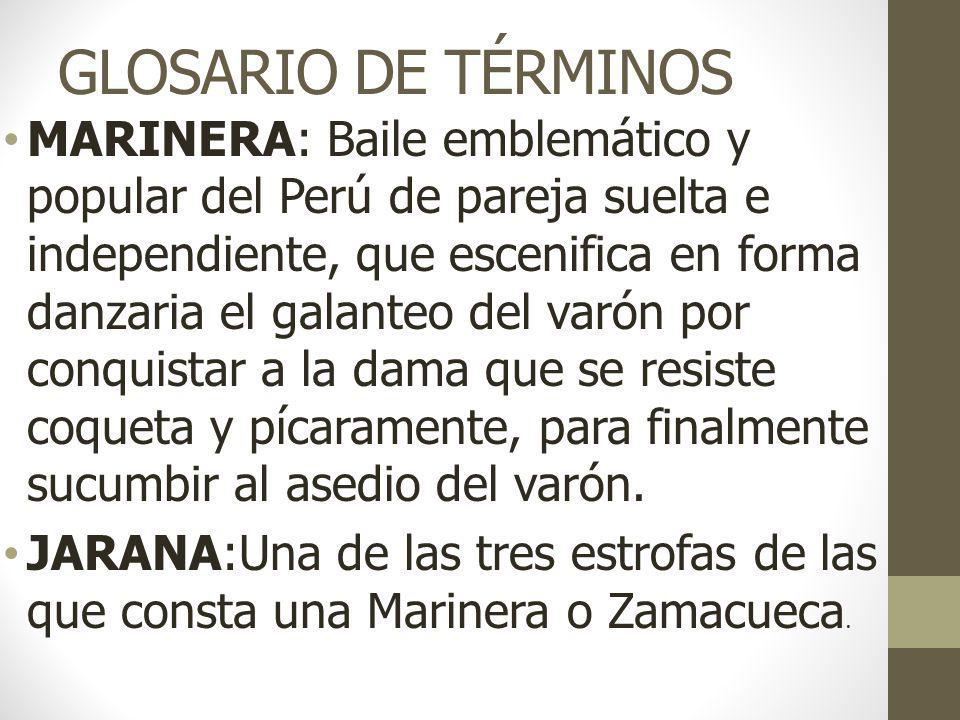GLOSARIO DE TÉRMINOS