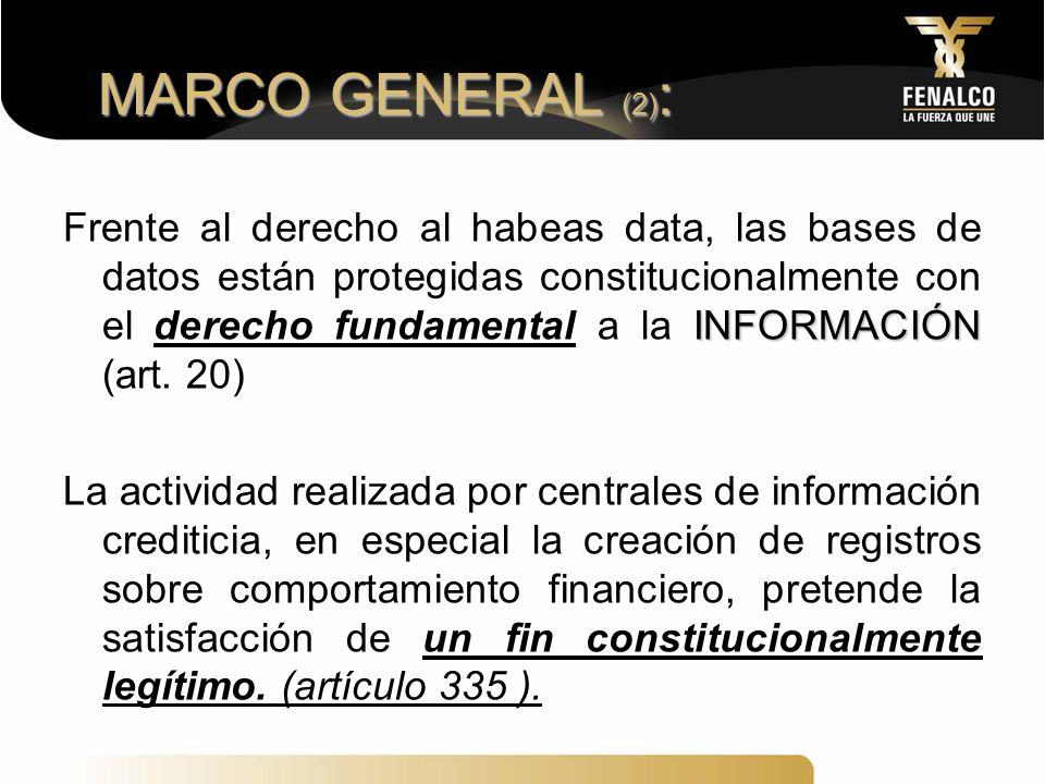 MARCO GENERAL (2):