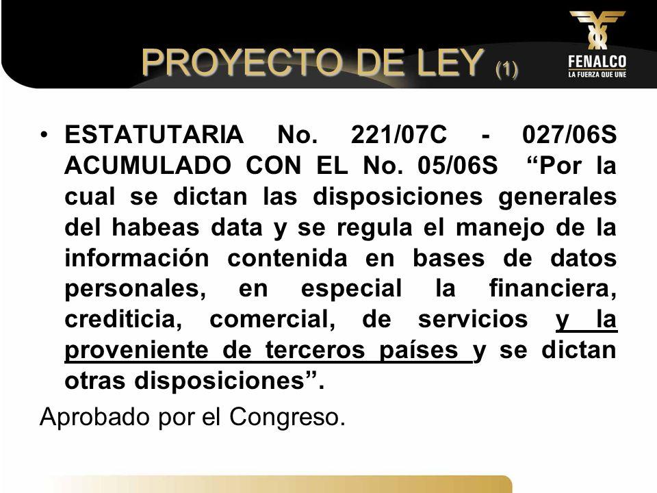 PROYECTO DE LEY (1)
