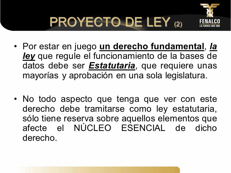 PROYECTO DE LEY (2)