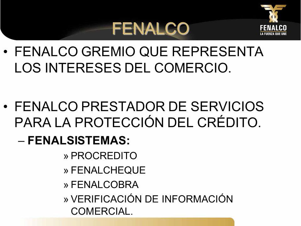 FENALCO FENALCO GREMIO QUE REPRESENTA LOS INTERESES DEL COMERCIO.