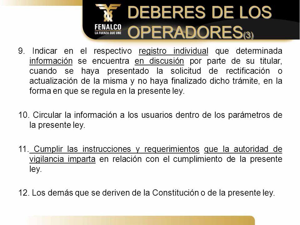 DEBERES DE LOS OPERADORES(3)