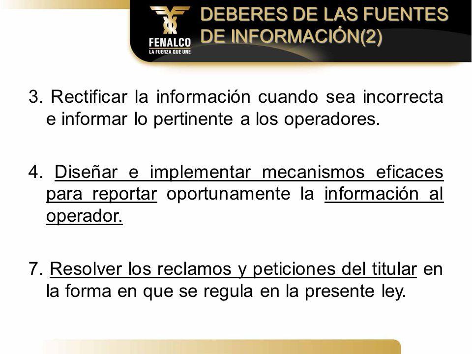 DEBERES DE LAS FUENTES DE INFORMACIÓN(2)