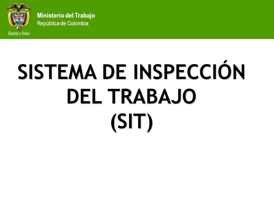 SISTEMA DE INSPECCIÓN DEL TRABAJO