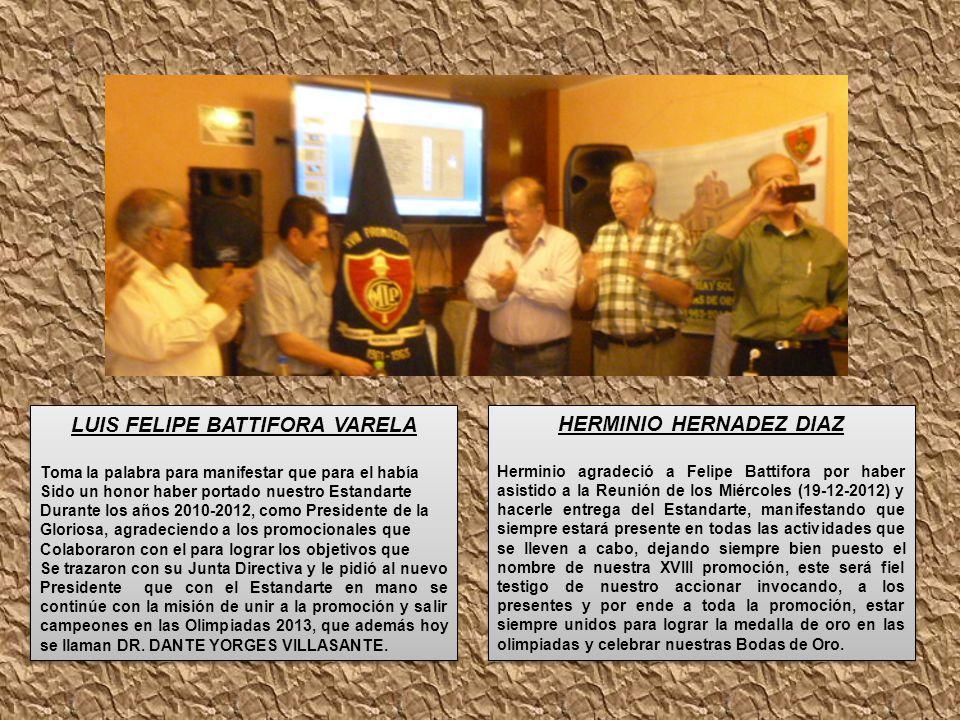 LUIS FELIPE BATTIFORA VARELA HERMINIO HERNADEZ DIAZ