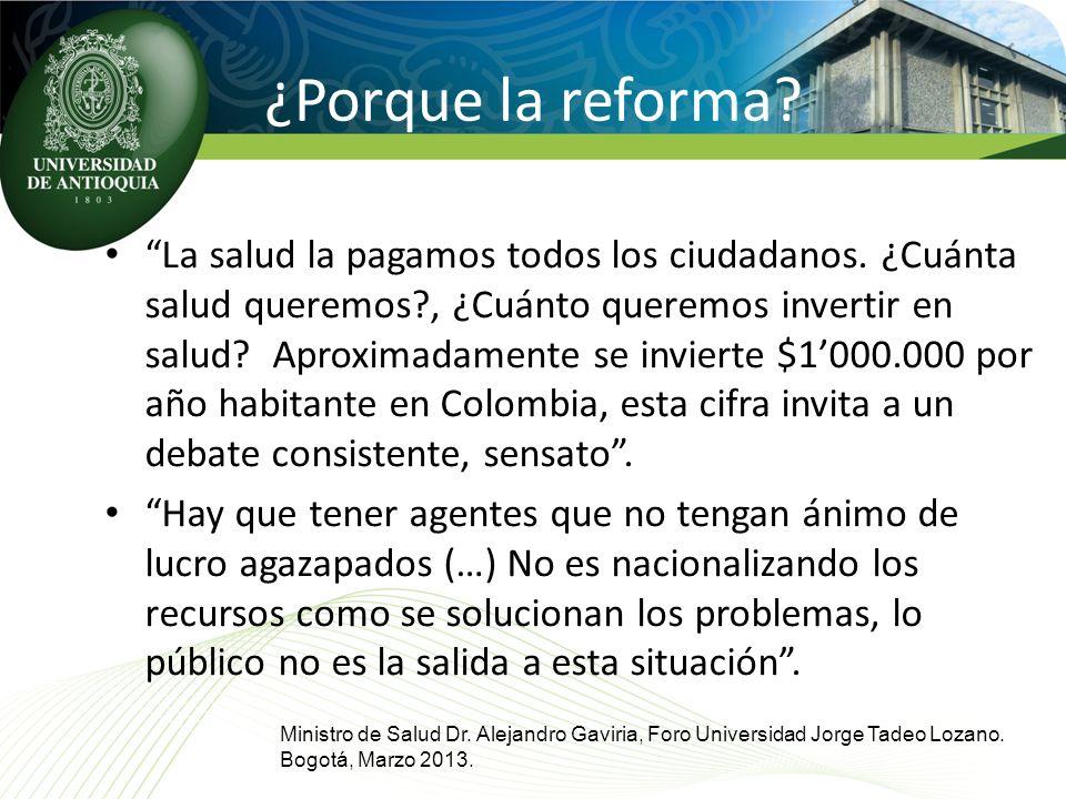 ¿Porque la reforma
