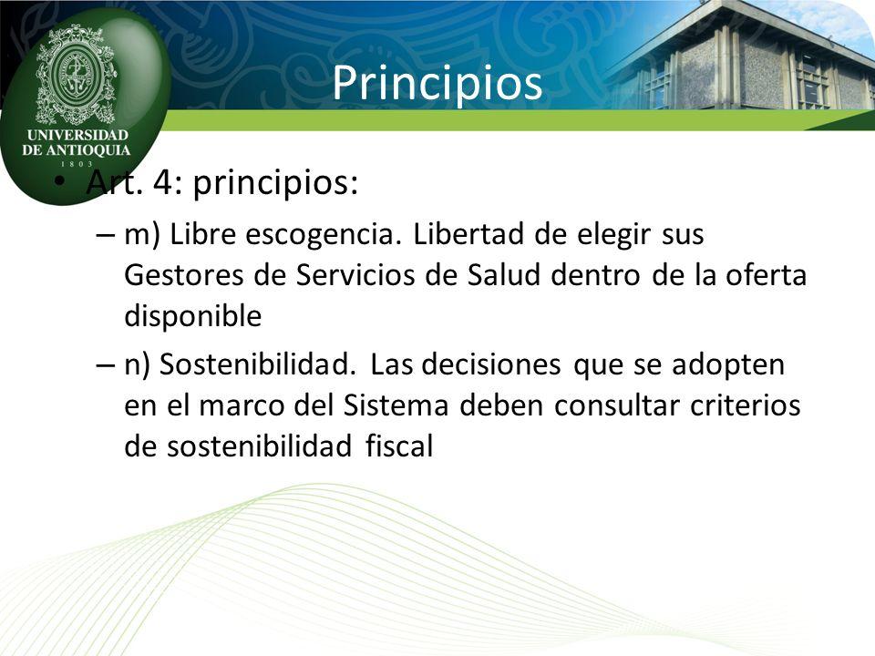 Principios Art. 4: principios: