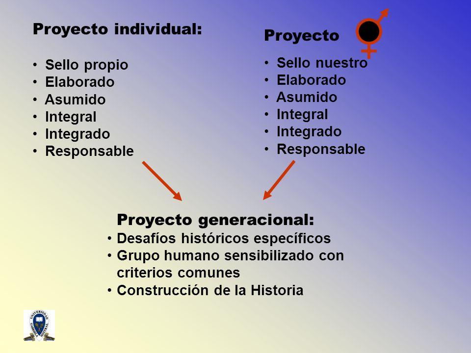 Proyecto generacional: