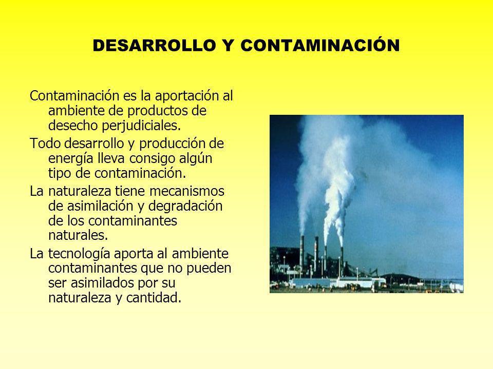 DESARROLLO Y CONTAMINACIÓN