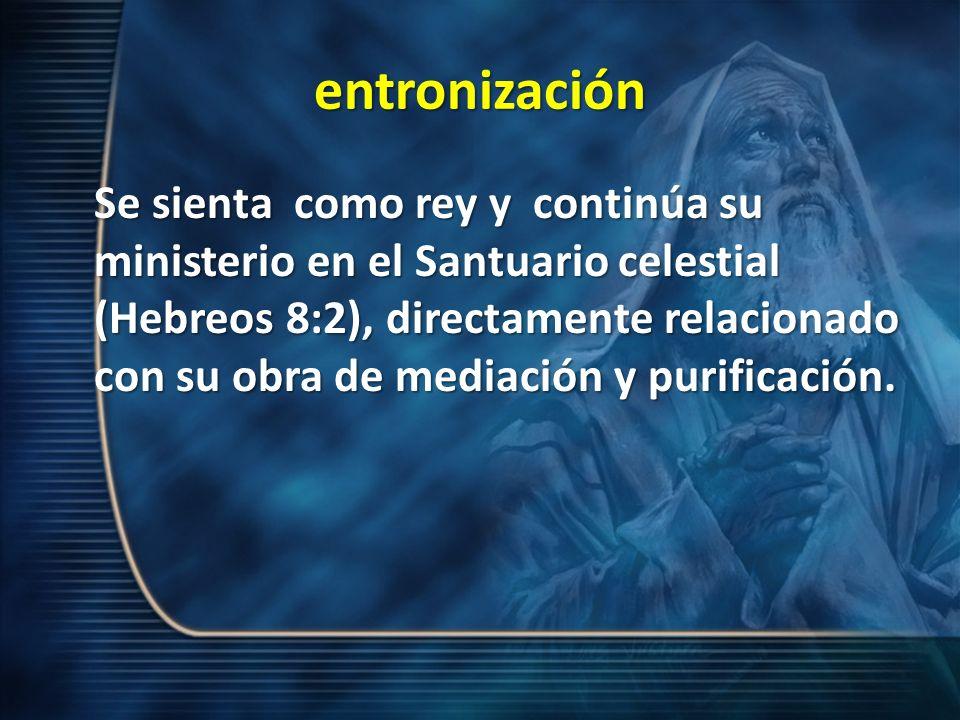 entronización